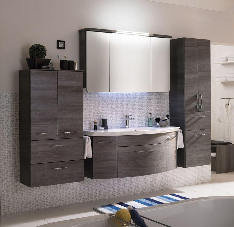 Cassca 25 Spiegelschrank Waschtisch 120 Cm Graphit Badmobel Kirchner