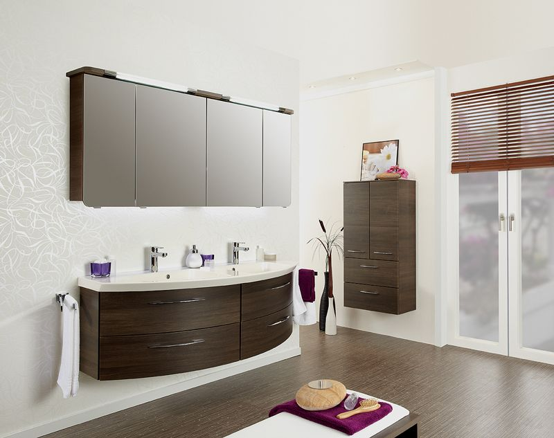 cassca 08 spiegelschrank doppelwaschtisch 153 cm badm bel kirchner. Black Bedroom Furniture Sets. Home Design Ideas