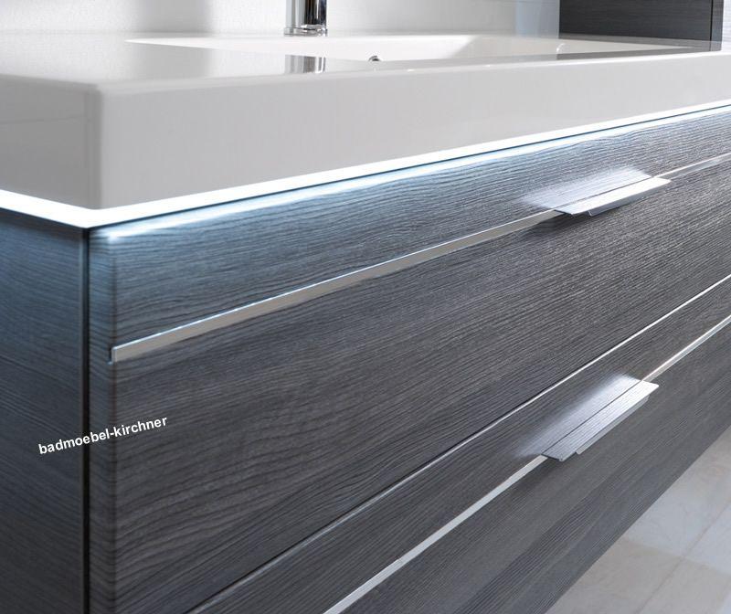 balto 06 spiegelschrank waschtisch 123 cm graphit badm bel kirchner. Black Bedroom Furniture Sets. Home Design Ideas